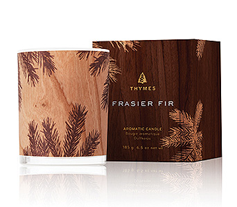 Frasier Fir Northwood Candle in Detroit and St. Clair Shores MI, Conner Park Florist
