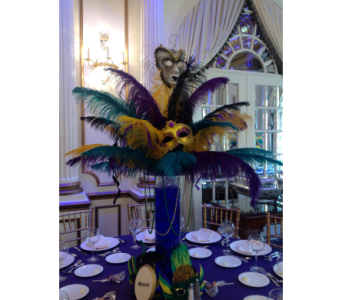 Mardi Gras Party in Jersey City NJ, Entenmann's Florist