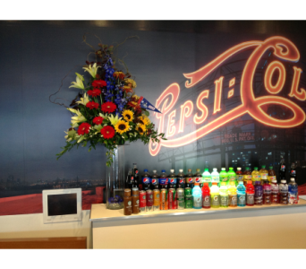 MetLife Suite - Pepsi Suite in Jersey City NJ, Entenmann's Florist