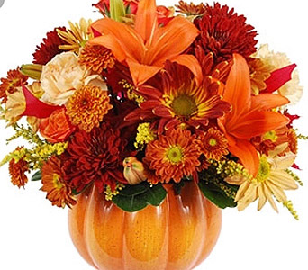 Fall Pumpkin in Needham MA, Needham Florist