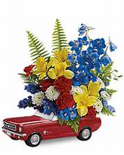 Teleflora''s ''65 Ford Mustang Bouquet in Johnstown PA, Schrader's Florist & Greenhouse, Inc