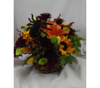 Basket of Fear in Largo FL, Rose Garden Florist