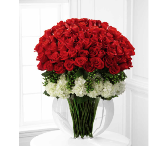 Lavish Rose Bouquet in Noblesville IN, Adrienes Flowers & Gifts