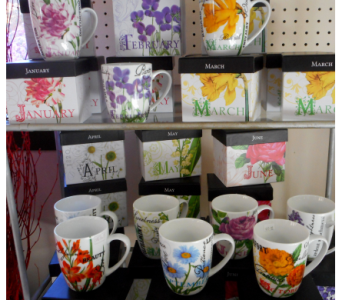 Flower of the Month Cup in Skowhegan ME, Boynton's Greenhouses, Inc.