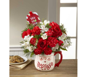 FTD Believe Mug Bouquet by Hallmark in Corunna ON, LaPier's Flowers