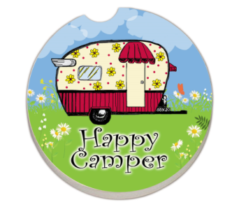 Happy Camper Car Coaster in Bonita Springs FL, Heaven Scent Flowers Inc.