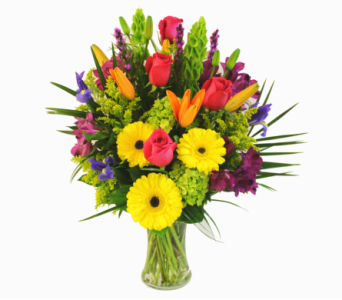 COLORFUL EMBRACE - DELUXE in Arlington VA, Twin Towers Florist