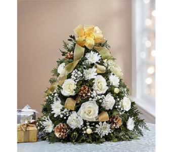 Glistening Gold Flower Tree in Fairfax VA, Exotica Florist, Inc.