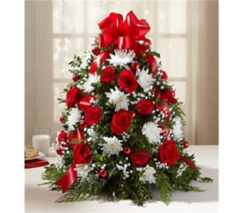 Holiday Flower Tree in Fairfax VA, Exotica Florist, Inc.