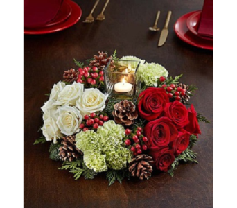 Very Merry Modern in Fairfax VA, Exotica Florist, Inc.