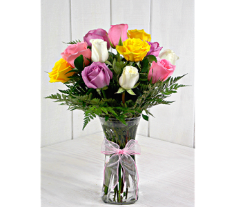 Steves specials delivery indianapolis in steves flowers and gifts medium stemmed assorted roses in indianapolis in steves flowers and gifts negle