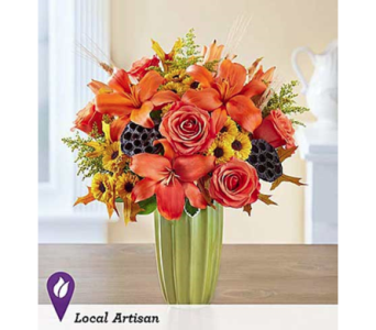 Autumn Sophistication in Fairfax VA, Exotica Florist, Inc.