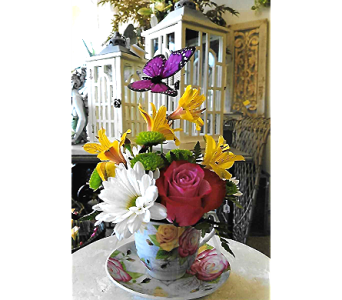 TEA TIME in The Villages FL, The Villages Florist Inc.