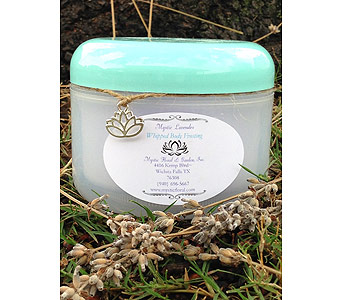 Mystic Lavender Whipped Body Frosting Small in Wichita Falls TX, Mystic Floral & Garden, Inc.