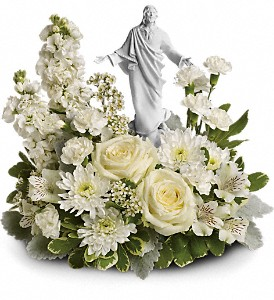 Teleflora's Forever Faithful Bouquet in McHenry IL, Locker's Flowers, Greenhouse & Gifts