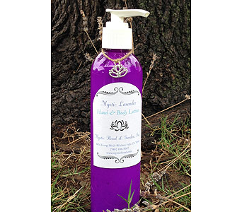 Mystic Lavender Hand and Body Lotion Large in Wichita Falls TX, Mystic Floral & Garden, Inc.