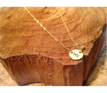 Zeta Tau Alpha Necklace in Ft. Collins CO, Palmer Flowers