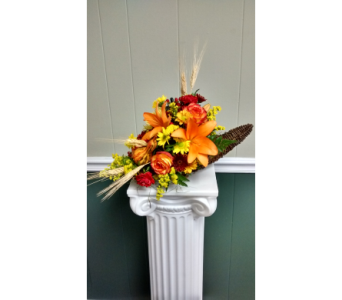Fall Cornucopia in Athens GA, Flower & Gift Basket