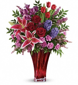 One Of A Kind Love Bouquet by Teleflora in Grand Island NE, Roses For You!
