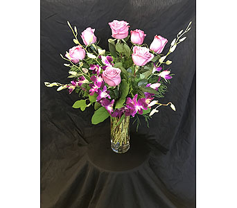Purple Splash - *New Item* in Dallas TX, Z's Florist