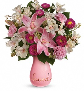 Always Loved Bouquet by Teleflora in Peachtree City GA, Rona's Flowers And Gifts