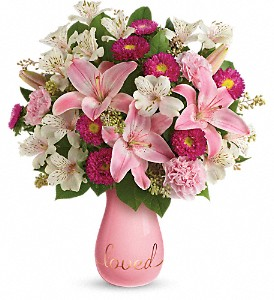Always Loved Bouquet by Teleflora DX in Lewiston ME, Val's Flower Boutique, Inc.