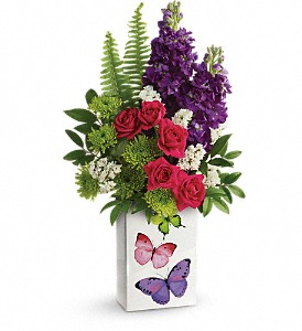 Teleflora's Flight Of Fancy Bouquet in Campbell CA, Bloomers Flowers