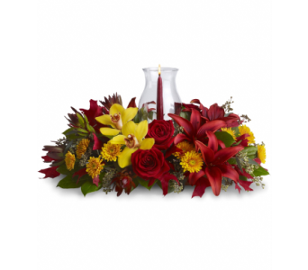Glow of Gratitude Centerpiece in Palm Springs CA, Palm Springs Florist, Inc.