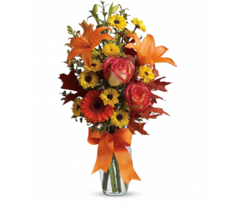 Burst of Autumn Bouquet in Palm Springs CA, Palm Springs Florist, Inc.