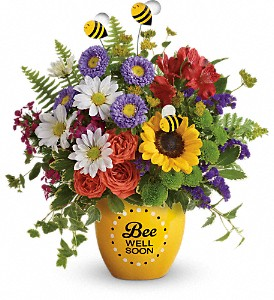 Teleflora's Garden Of Wellness Bouquet in Reno NV, Bumblebee Blooms Flower Boutique