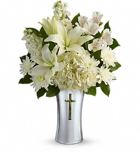 Teleflora's Shining Spirit Bouquet in McHenry IL, Locker's Flowers, Greenhouse & Gifts