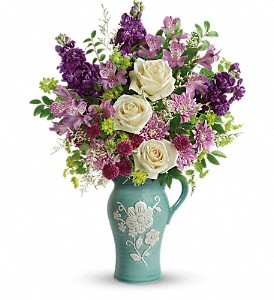 Teleflora's Artisanal Beauty Bouquet in Mount Morris MI, June's Floral Company & Fruit Bouquets