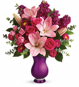 Teleflora's Dazzling Style Bouquet in Herndon VA, Bundle of Roses