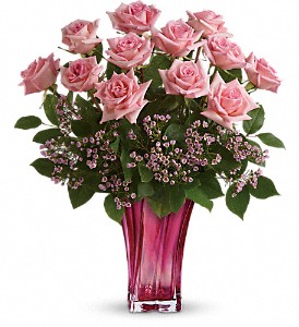 Teleflora's Glorious You Bouquet in Boerne TX, An Empty Vase