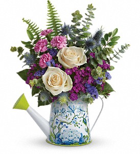 Teleflora's Splendid Garden Bouquet in Mount Morris MI, June's Floral Company & Fruit Bouquets
