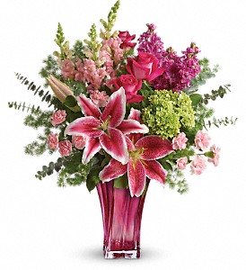 Teleflora's Steal The Spotlight Bouquet in The Woodlands TX, Rainforest Flowers