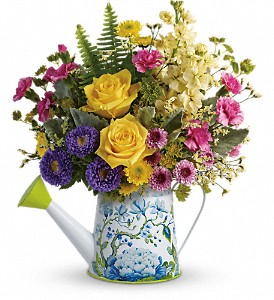 Teleflora's Sunlit Afternoon Bouquet in Herndon VA, Bundle of Roses