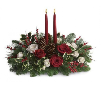 Christmas Centerpiece  in Needham MA, Needham Florist