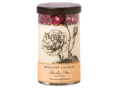 Bourbon Rose Botanist candle in Sitka AK, Bev's Flowers & Gifts