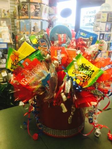 Glamorous Candy Bouquet  in Sitka AK, Bev's Flowers & Gifts