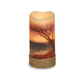 Beach LED Candle in Bonita Springs FL, Heaven Scent Flowers Inc.