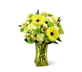 Lemon Groove� Bouquet in Norfolk VA, The Sunflower Florist