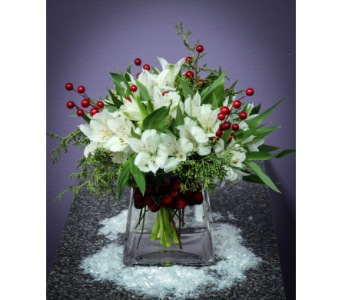 Holiday Party Arrangements in Birmingham MI, Affordable Flowers