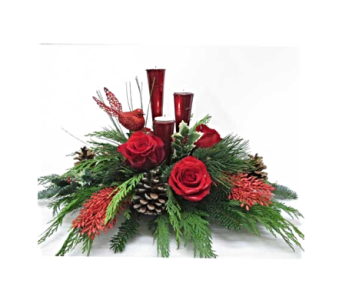 Christmas Tidings in Amherst NY, The Trillium's Courtyard Florist