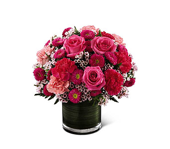 FTD Pink Pursuits Bouquet in Branford CT, Myers Flower Shop