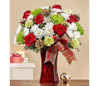 Merry and Bright in Largo FL, Rose Garden Florist