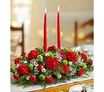 Family Gathering Centerpiece in Largo FL, Rose Garden Florist