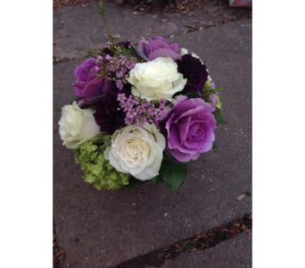 The Color Purple in Guilford CT, Guilford White House Florist