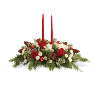 Wish You A Merry Christmas in Big Rapids MI, Patterson's Flowers, Inc.