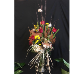 Dashing in Fall  in New Iberia LA, Breaux's Flowers & Video Productions, Inc.